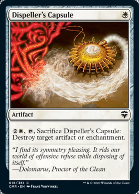 MtG Commander Legends Common Dispeller's Capsule #18