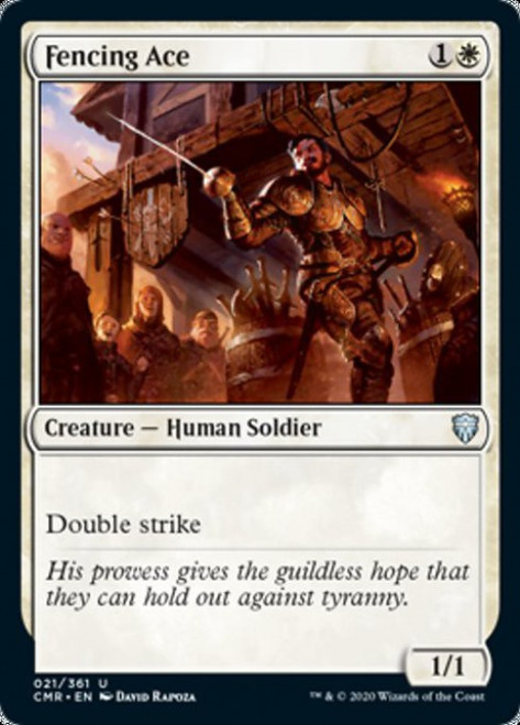 MtG Commander Legends Uncommon Fencing Ace #21