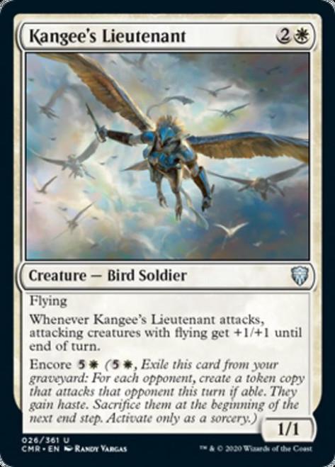 MtG Commander Legends Uncommon Kangee's Lieutenant #26