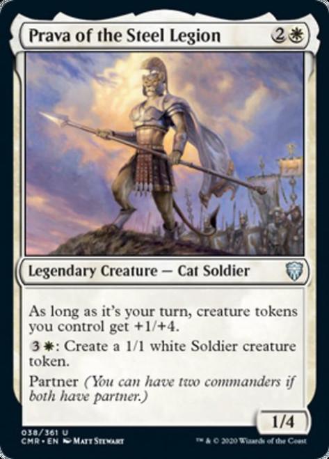 MtG Commander Legends Uncommon Prava of the Steel Legion #38
