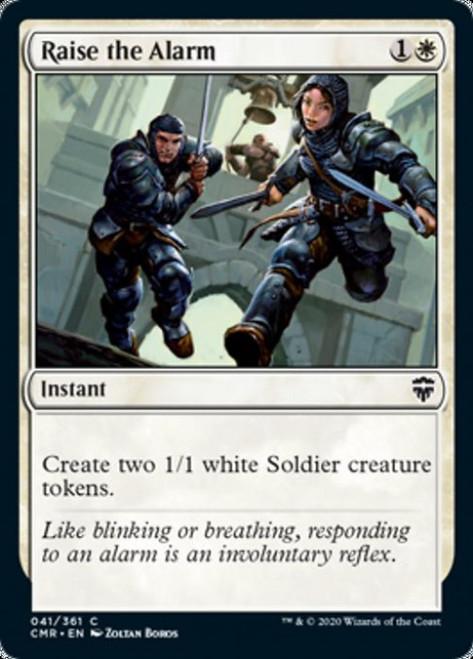 MtG Commander Legends Common Raise the Alarm #41