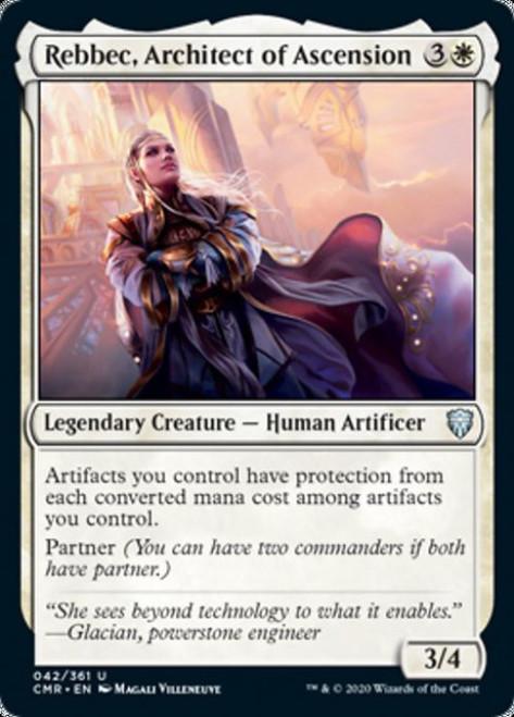 MtG Commander Legends Uncommon Rebbec, Architect of Ascension #42