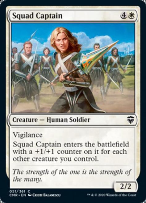 MtG Commander Legends Common Squad Captain #51