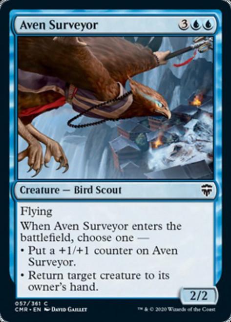 MtG Commander Legends Common Aven Surveyor #57