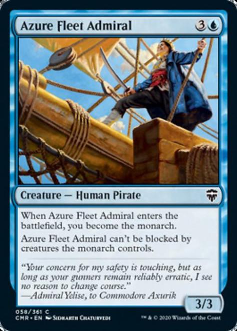 MtG Commander Legends Common Azure Fleet Admiral #58