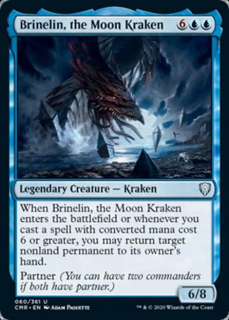 MtG Commander Legends Uncommon Brinelin, the Moon Kraken #60