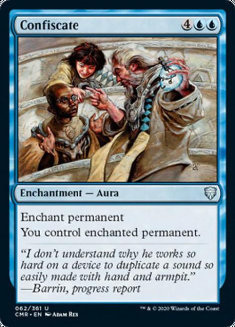 MtG Commander Legends Uncommon Confiscate #62