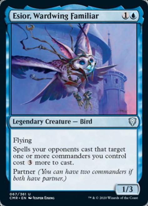 MtG Commander Legends Uncommon Esior, Wardwing Familiar #67