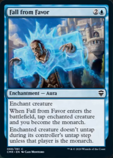 MtG Commander Legends Common Fall from Favor #68