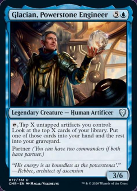 MtG Commander Legends Uncommon Glacian, Powerstone Engineer #72