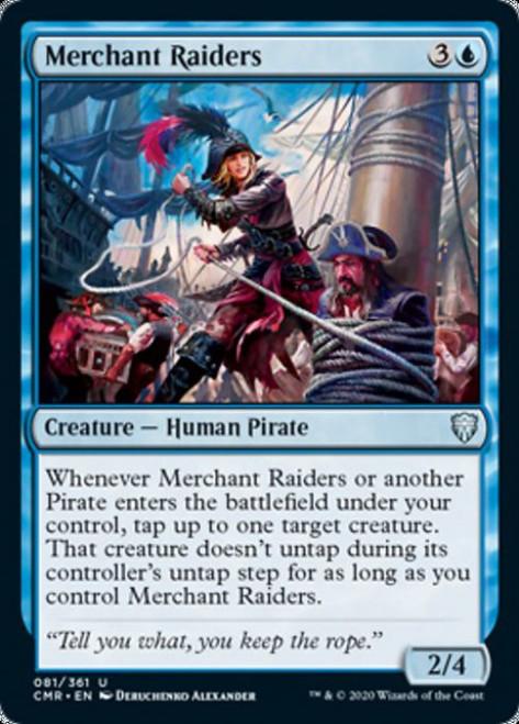 MtG Commander Legends Uncommon Merchant Raiders #81