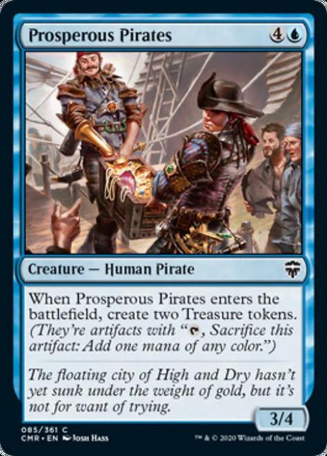 MtG Commander Legends Common Prosperous Pirates #85