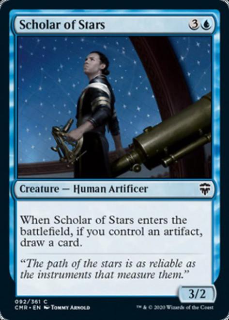 MtG Commander Legends Common Scholar of Stars #92