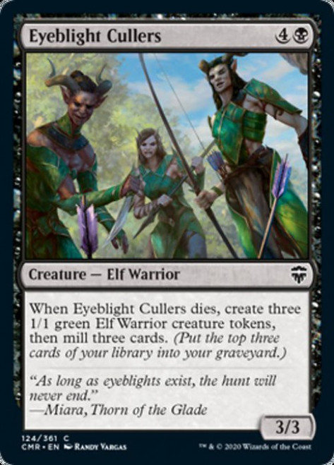 MtG Commander Legends Common Eyeblight Cullers #124