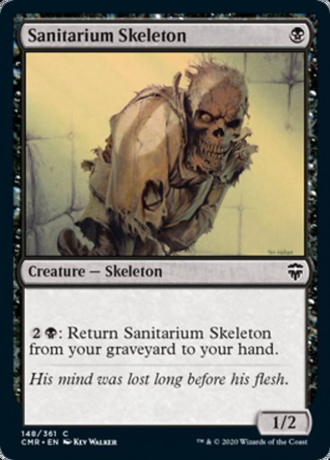 MtG Commander Legends Common Sanitarium Skeleton #148