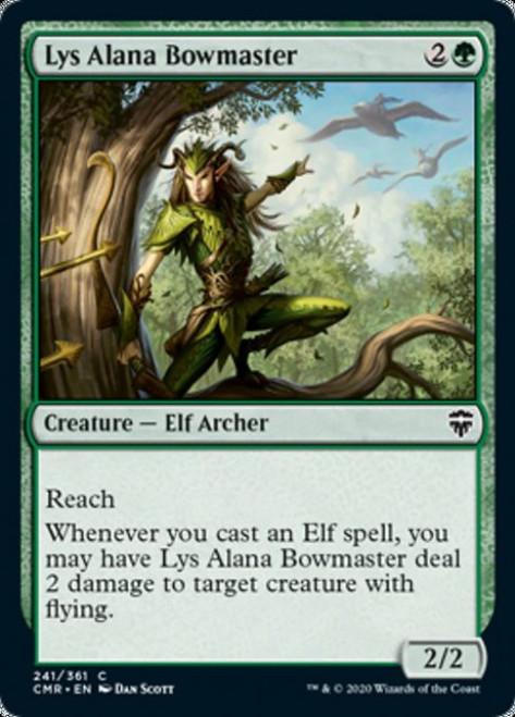 MtG Commander Legends Common Lys Alana Bowmaster #241