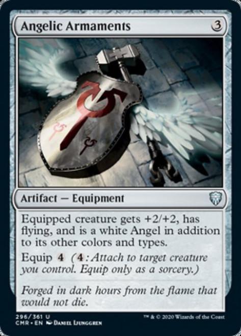 MtG Commander Legends Uncommon Angelic Armaments #296