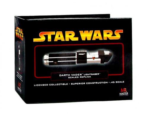 Star Wars Revenge of the Sith .45 Scale Minis Darth Vader Lightsaber [Episode III]