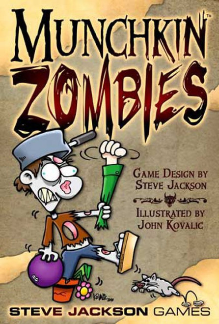 Munchkin Zombies Card Game