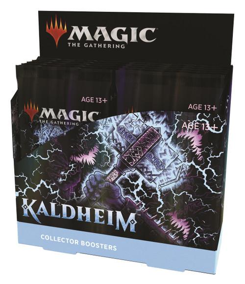 MtG Trading Card Game Kaldheim COLLECTOR Booster Box (Pre-Order ships November)