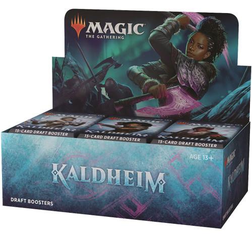 MtG Trading Card Game Kaldheim DRAFT Booster Box [36 Packs] (Pre-Order ships November)