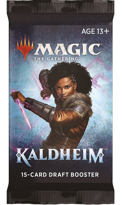 MtG Trading Card Game Kaldheim DRAFT Booster Pack [15 Cards]