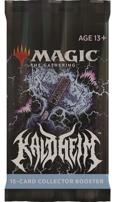 MtG Trading Card Game Kaldheim COLLECTOR Booster Pack (Pre-Order ships November)