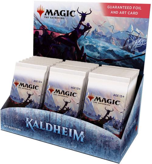 MtG Trading Card Game Kaldheim SET Booster Box [36 Packs] (Pre-Order ships November)