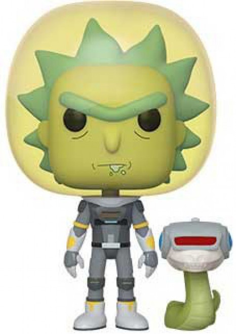 Funko Rick & Morty POP! Animation Space Suit Rick Vinyl Figure [with Snake, Loose]