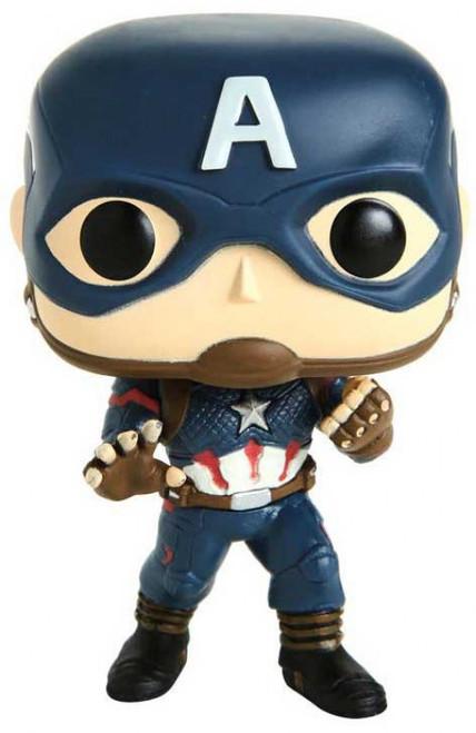 Funko Avengers Endgame POP! Marvel Captain America Exclusive Vinyl Figure #464 [Loose]