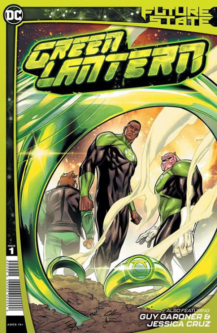 DC Comics Future State Green Lantern #1 of 2 Comic Book (Pre-Order ships January)