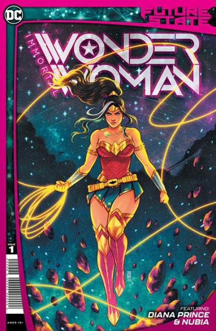 DC Comics Future State Immortal Wonder Woman #1 of 2 Comic Book (Pre-Order ships January)