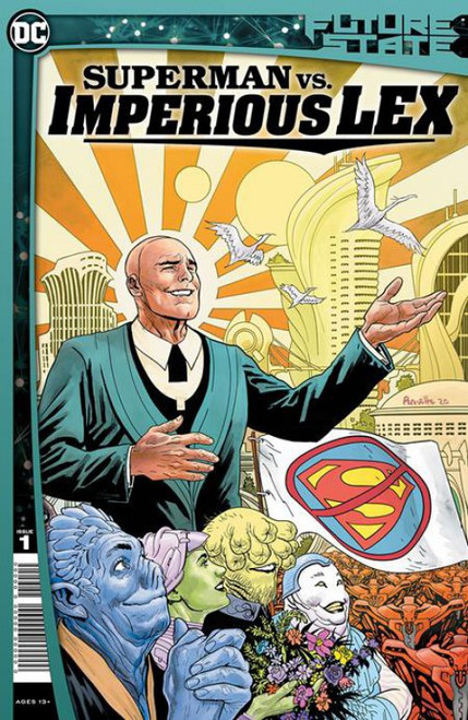 DC Comics Future State Superman vs. Imperious Lex #1 of 3 Comic Book (Pre-Order ships January)