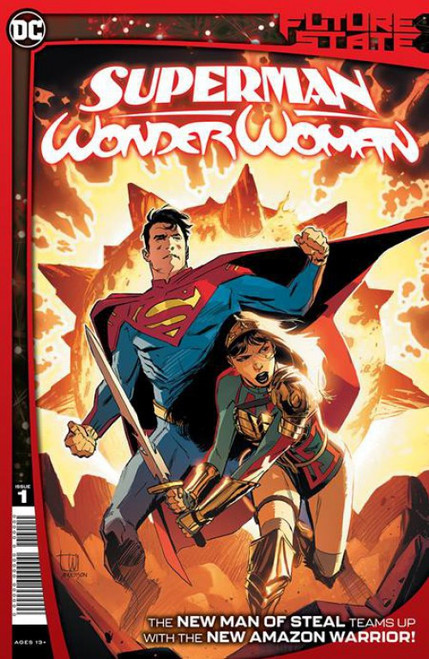 DC Comics Future State Superman Wonder Woman #1 of 2 Comic Book (Pre-Order ships January)