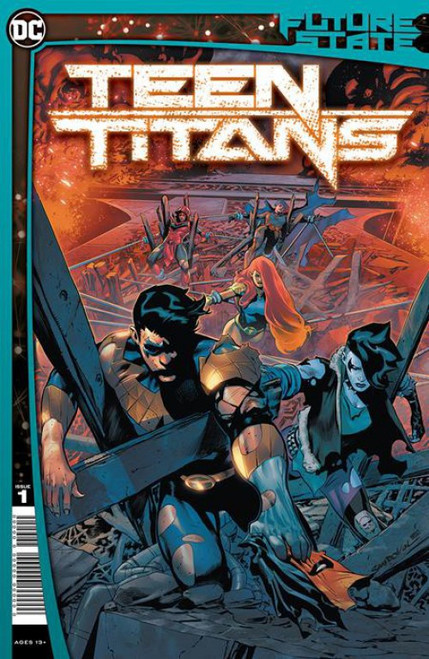 DC Comics Future State Teen Titans #1 of 2 Comic Book (Pre-Order ships January)