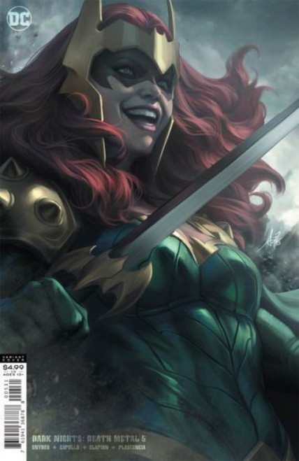 DC Comics Dark Nights: Death Metal #5C Comic Book