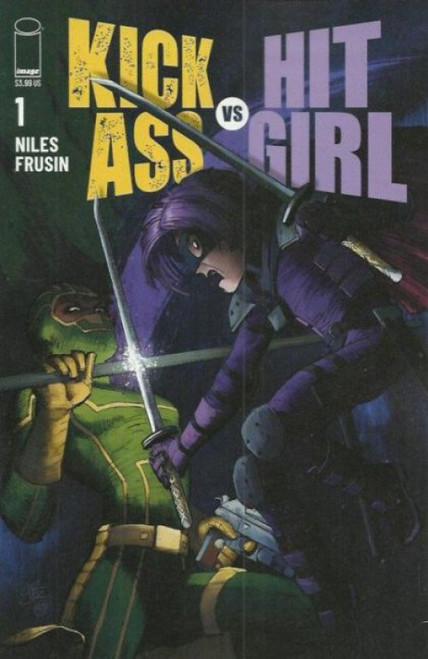 Image Comics Kick-Ass vs Hit-Girl #1A Comic Book