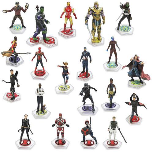 Disney Marvel Avengers The Infinity Saga Exclusive 20-Piece PVC Figure Play Set