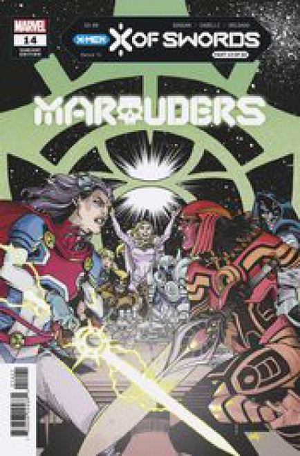 Marvel Marauders, Vol. 1 #14 XOS Hamner Variant Comic Book