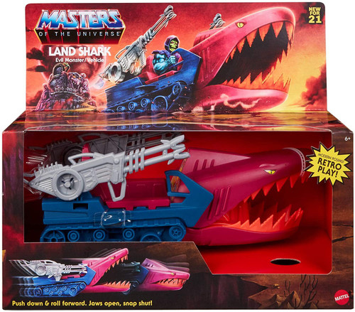 Masters of the Universe Origins Land Shark (Land Shark) 5.5-Inch Vehicle [Fits Origins Action Figures!]