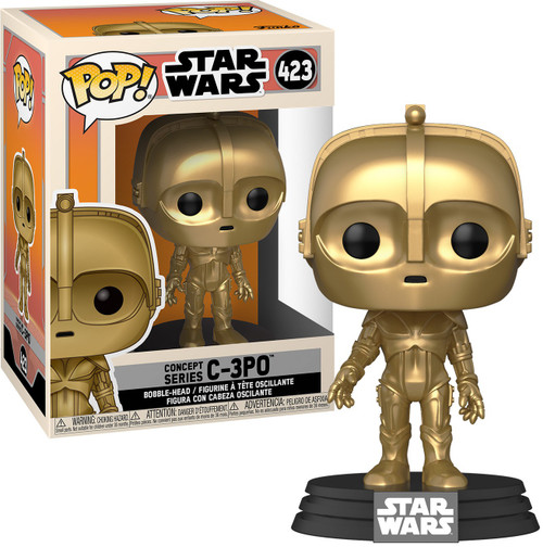 Funko Concept POP! Star Wars C-3PO Vinyl Figure #423 (Pre-Order ships March)
