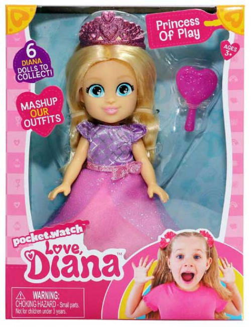 Love, Diana Princess of Play 6-Inch Doll