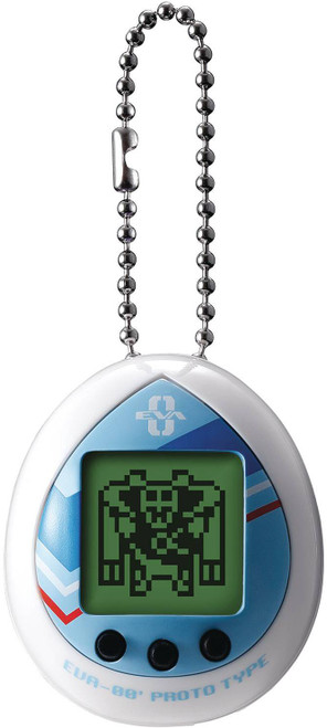 Tamagotchi Evangelion Evatchi Rei 1.5-Inch Virtual Pet Toy