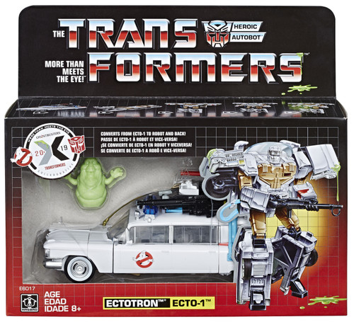 Transformers Ghostbusters Ecto-1 Ectotron Exclusive Action Figure [Mash Up!, Damaged Package]