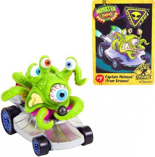 Monster 500 Small Car Captain Heinous Vehicle Figure [From Uranus]