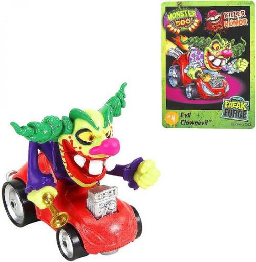 Monster 500 Small Car Evil Clownevil Vehicle Figure