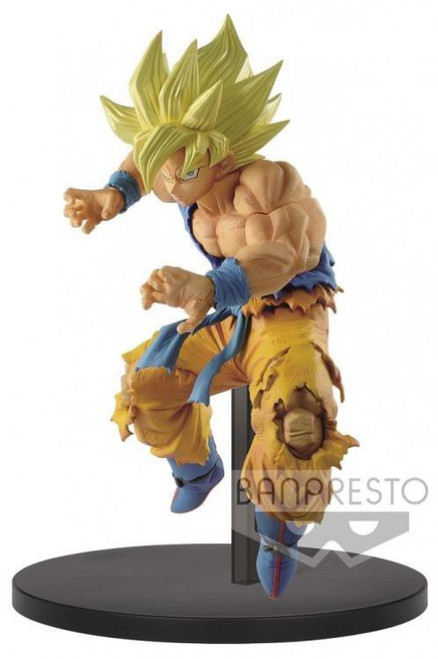 Dragon Ball FES!! Super Saiyan Goku 8-Inch Collectible PVC Figure (Pre-Order ships May)