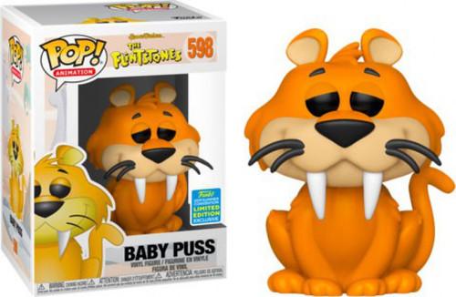Funko Hanna-Barbera The Flintstones POP! Animation Baby Puss Exclusive Vinyl Figure #598 [Damaged Package]