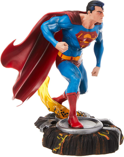 DC Gallery Superman 10-Inch Collectible PVC Statue [Damaged Package]