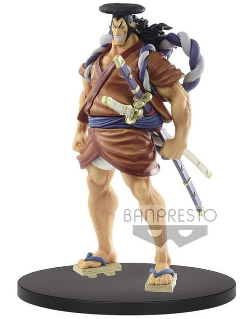 One Piece Grandline Men Wano Country Kozuki Oden 7-Inch Collectible PVC Figure (Pre-Order ships May)